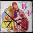 Every girl is a gift. 2008 Acrylique et divers sur carton 55x57